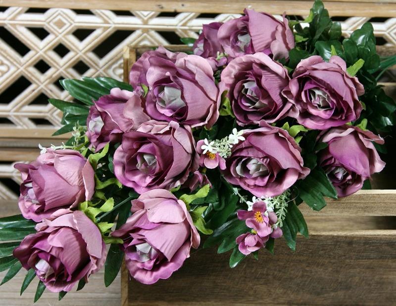 Kytica ruža x13  JX1704-4