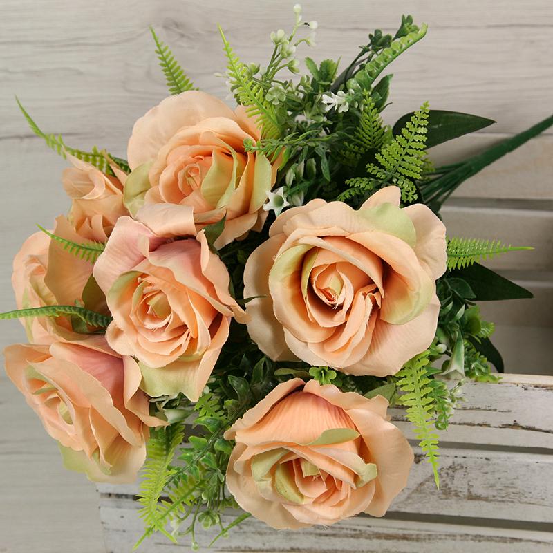 Kytica ruža doplnky x10  JX191437