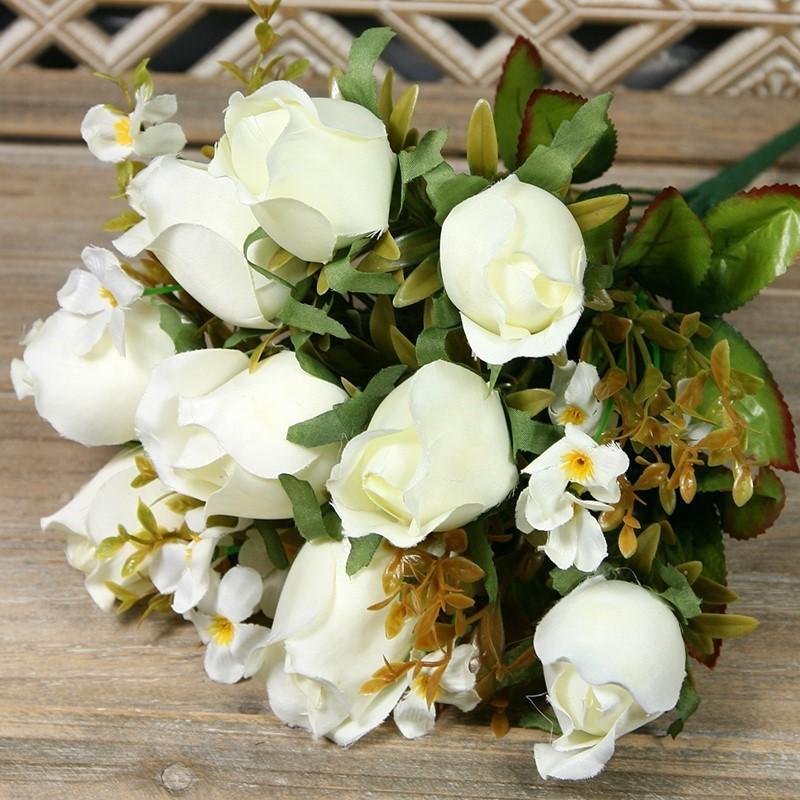 Kytica ruža puk x14  JX19781-CR