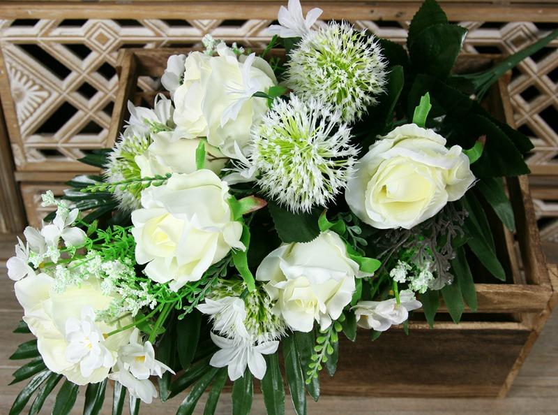 Kytica ruža hortenzia x14  JX2101-CR