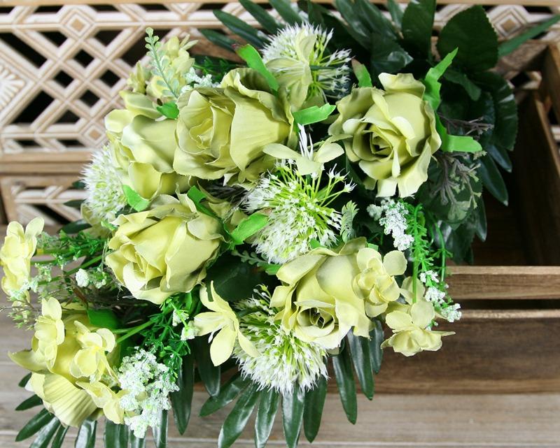 Kytica ruža hortenzia x14  JX2101