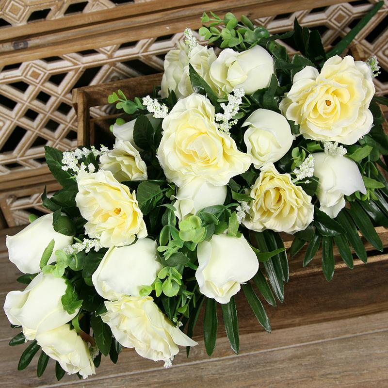 Kytica ruža x16  JX2224-CR