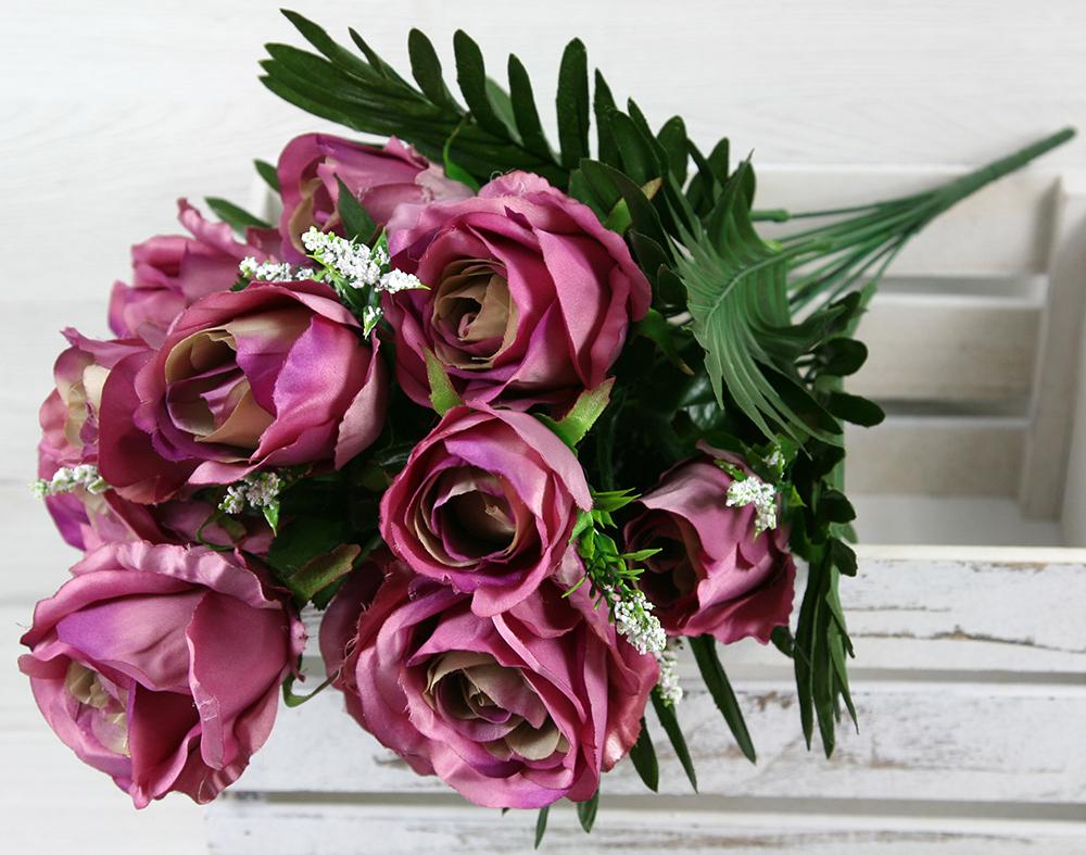 Kytica ruža x12  JX494