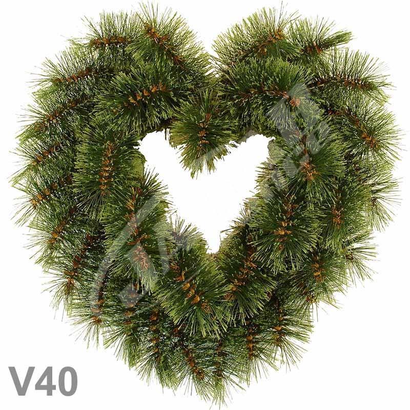 Srdcia borovicové V40