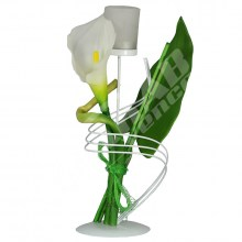 Svietnik s kvetom AJ1007