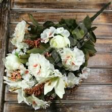 Kytica ruža ľalia hibiscus x24  B2041