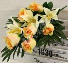 Kytica ruža ľalia x16  JX1002