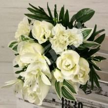 Kytica ruža karafiát orchidea x12  JX1180
