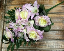 Kytica ruža ľalia anemonka x12  JX1302