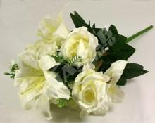 Kytica ruža ľalia hortenzia x12  JX1325-CR