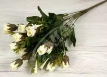 Kytica ruža puk x17  JX1329-CR