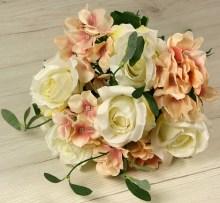 Kytica ruža hortenzia x12  JX1346