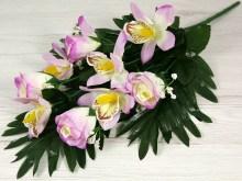 Kytica ruža orchidea x9  JX1561