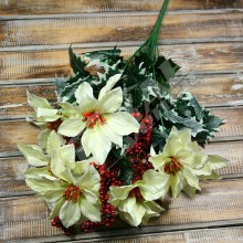 Kytica vianočná ruža x14  JX1574