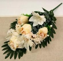 Kytica ruža ľalia margaretka x9  JX1585