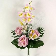 Kytica ruža orchidea x10  JX1587