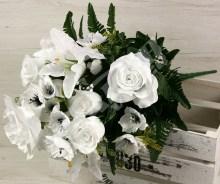 Kytica ruža ľalia anemonka x17  JX1642