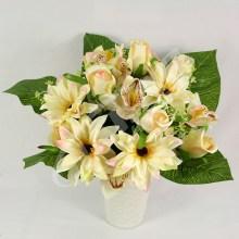 Kytica ruža rudbekia orchidea x24  JX1646