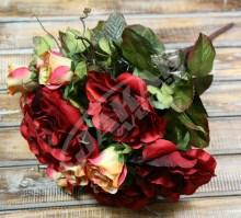 Kytica ruža x12  JX1647