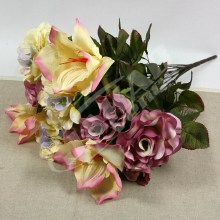 Kytica ruža amarylis hortenzia x14  JX1648