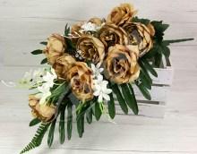 Kytica pivónia ruža x11  JX172-8