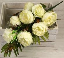 Kytica pivónia ruža x8  JX173-CR