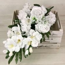 Kytica ruža hortenzia gladiola x10  JX1883-CR