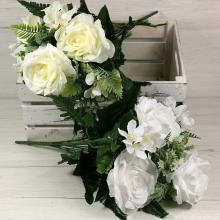 Kytica ruža doplnky x11  JX191239-CR