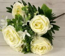 Kytica ruža s doplnkami x11  JX191529-CR