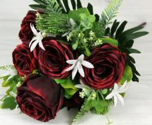 Kytica ruža s doplnkami x11  JX191529