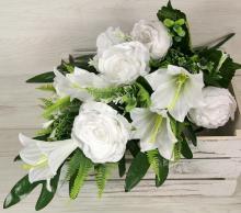 Kytica ruža ľalia pivónia x12 JX191599-CR