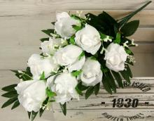 Kytica ruža puk x9 JX19705-CR