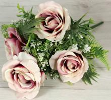 Kytica ruža doplnky x9 JX19975