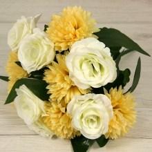 Kytica ruža hortenzia x12  JX2052