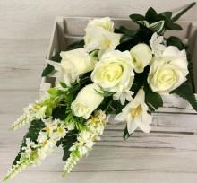 Kytica ruža ľalia x14  JX2059-CR