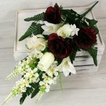 Kytica ruža ľalia x14  JX2059