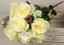 Kytica ruža hortenzia x11  JX2071-B007