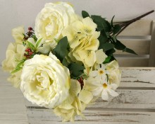 Kytica pivónia ruža x13  JX1904