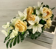 Kytica ruža ľalia hortenzia margaretka x14 JX2113