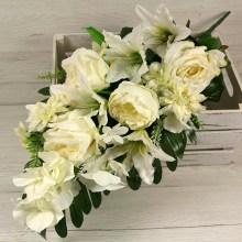 Kytica ruža ľalia hortenzia margaretka x14 JX2113-B007