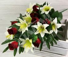 Kytica ruža ľalia x19  SA191981