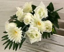 Kytica ruža gerbera x9  JX1015