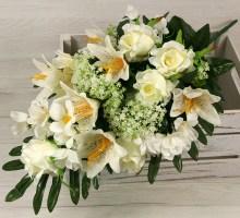 Kytica ruža ľalia x18  SJX698