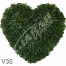 Srdcia smrekové V36