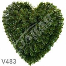 Srdcia smrekové V483