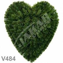 Srdcia smrekové V484