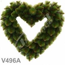 Srdcia borovicové V496A