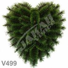 Srdcia borovicové V499