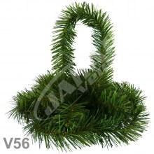Košíky smrekové V56