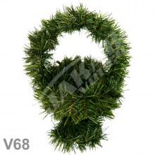 Košíky smrekové V68
